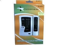 Network or phone cable tester RJ11 and RJ45