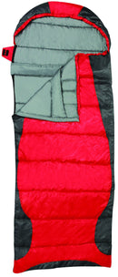 Sleeping bag heat zone RT150 0C 32F 78+15x34 inch 198+38x87cm rockwater design