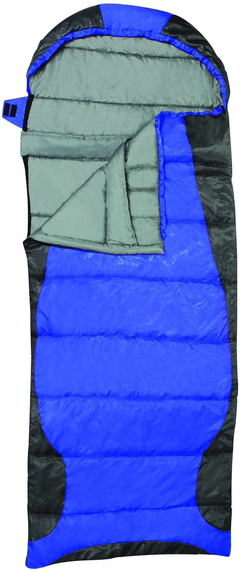 Sleeping bag heat zone RT225 -10C 14F 78+15x34 inch 198+38x87cm rockwater design