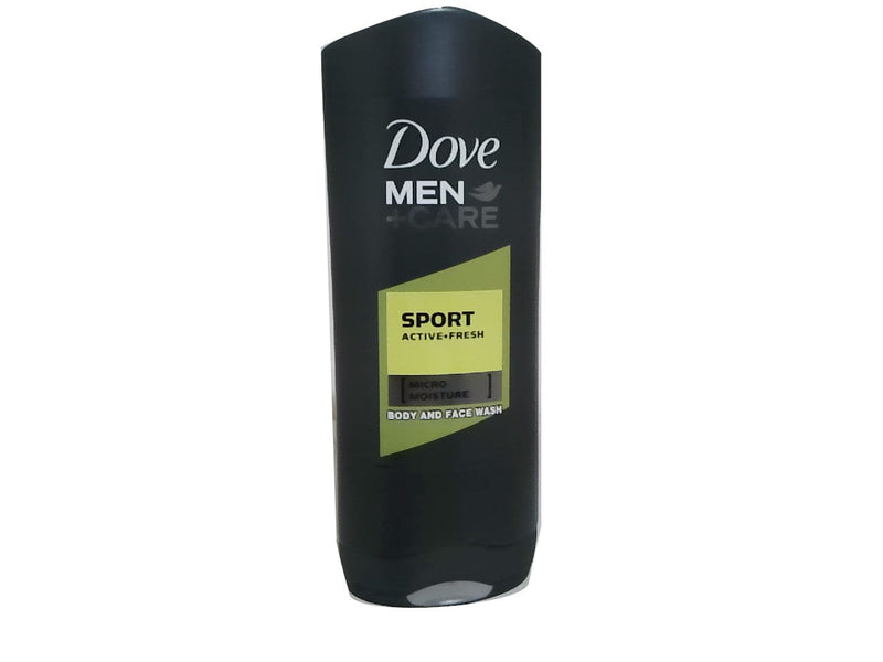 Body Wash 400mL Sport Active Fresh Micro Moisture Men Dove