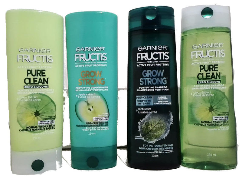 Shampoo/conditioner Display Garnier Fructis 354/370ml Ass't