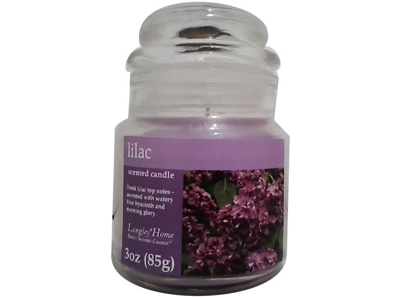Candle Jar 3oz. Lilac Langley Home