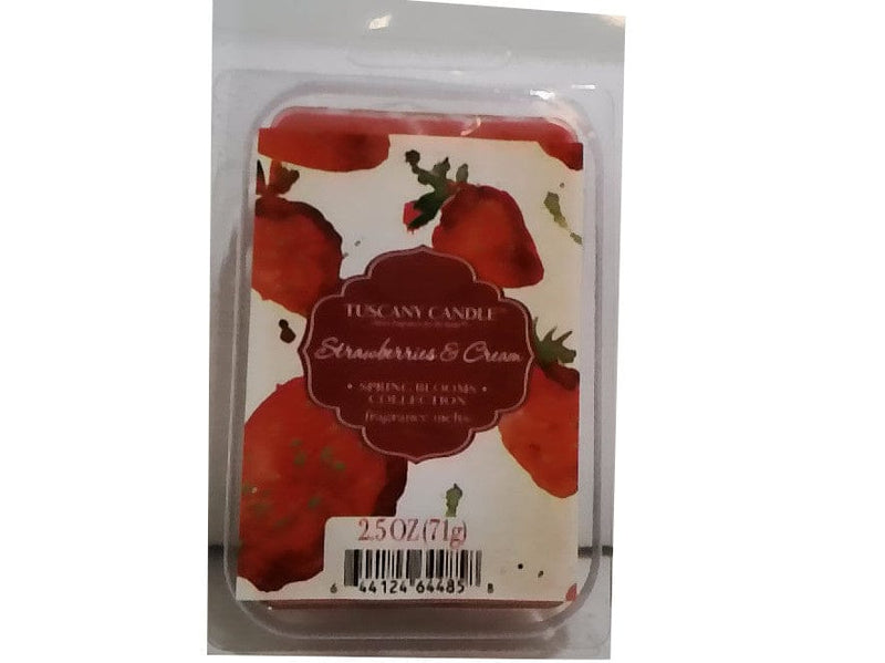 Wax Melts 2.5oz. Strawberries & Cream Tuscany Candle