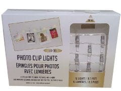 Photo Clip Lights LED 16 Lights 8.3'