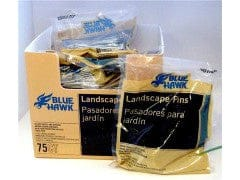 "Pin Landscape 4"" 75pk. Blue Hawk"