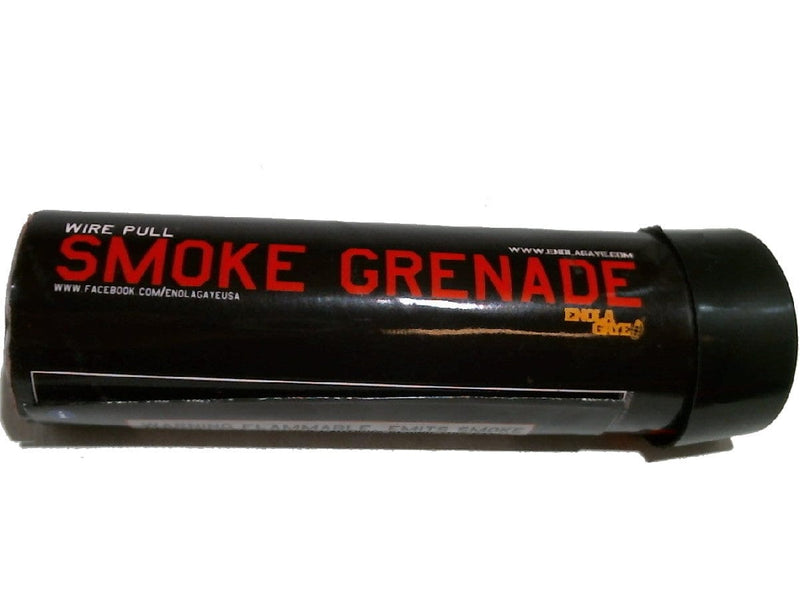 Smoke Grenade Wire Pull Red Enola Gaye (MUST BE 18 TO BUY)