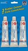 Rubber Cement 3 tubes per pack