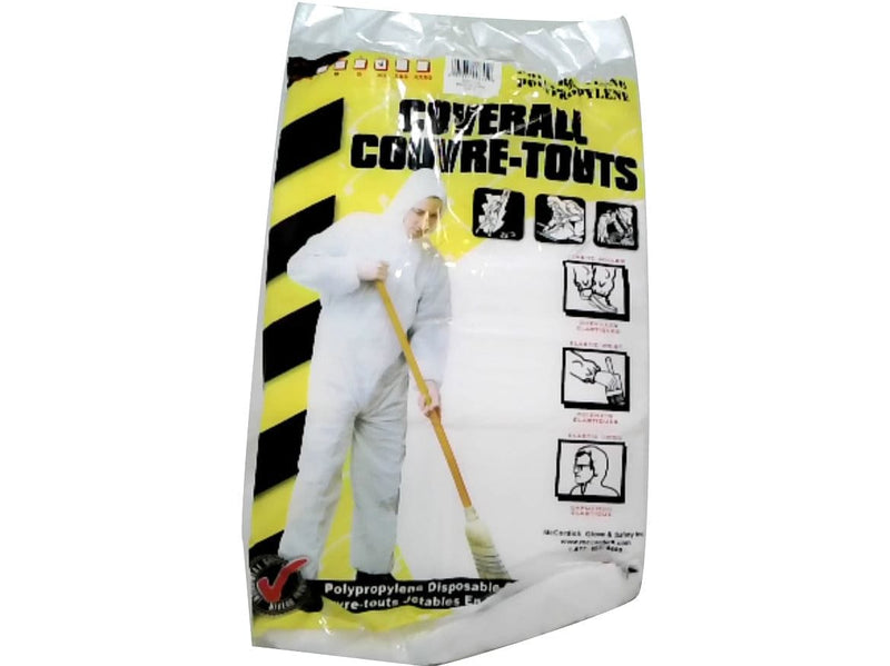 Disposable Coverall Polypropylene XL w/Hood