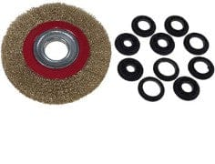 "6"" Steel Wire Wheel Brush"