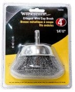 Wire Cup Brush 4 Inch