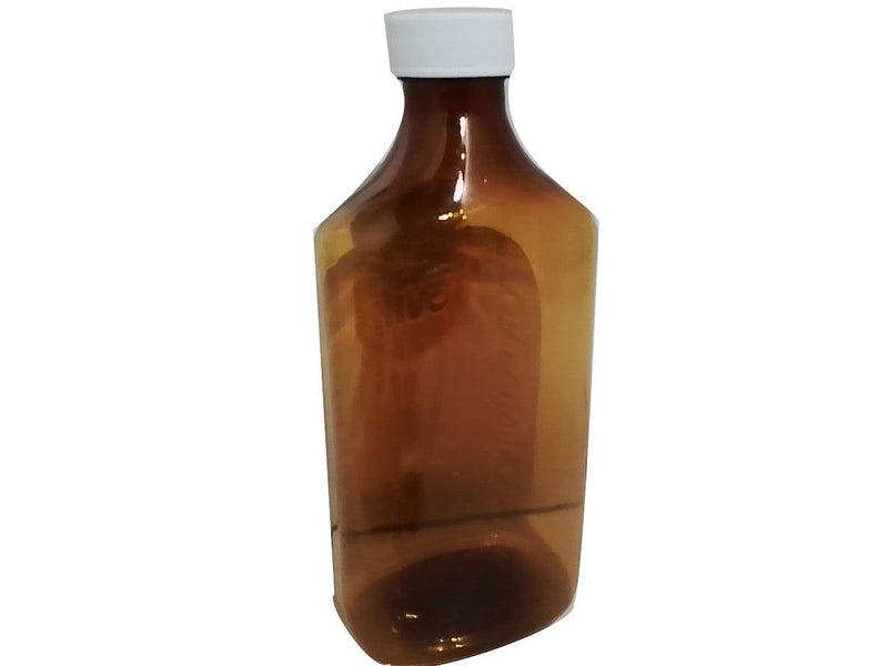 Bottle Plastuic Amber Clear W/twist Cap (or 12 For $5.99)