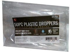 Droppers Plastic 50pk. 3ml. Capacity Or B/u $0.25 Ea.
