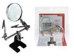 "Magnifier 2.5"" Helping Hand 4x Magnification"