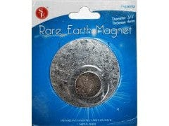 "Magnet Rare Earth Round 3/4"" 12lb. Strength"