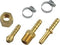 6 pc Air Hose Repair Kit