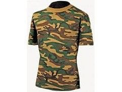 Camo T-Shirt Woodland Large -SPECIAL PRICE