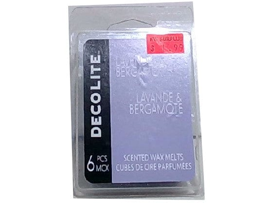Decolite Scented Wax Melts Lavender & Bergamot