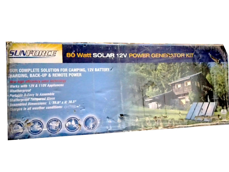 Power Generator Kit 80W Solar 12V Sunforce