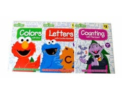SESAME STREET ACTIVITY BOOKS ASSTD AGES 3 PLUS