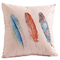 Cushion outdoor water resistant 18x18 inch - feathers
