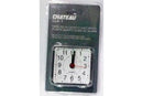 Clock portable with alarm plastic quartz