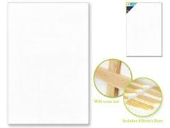 "Stretch Artist Canvas: Rect. 24""x36"" Primed Back-Stapled"