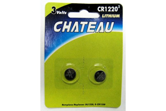 Watch Battery CR1220 2 pack lithium 3 volt