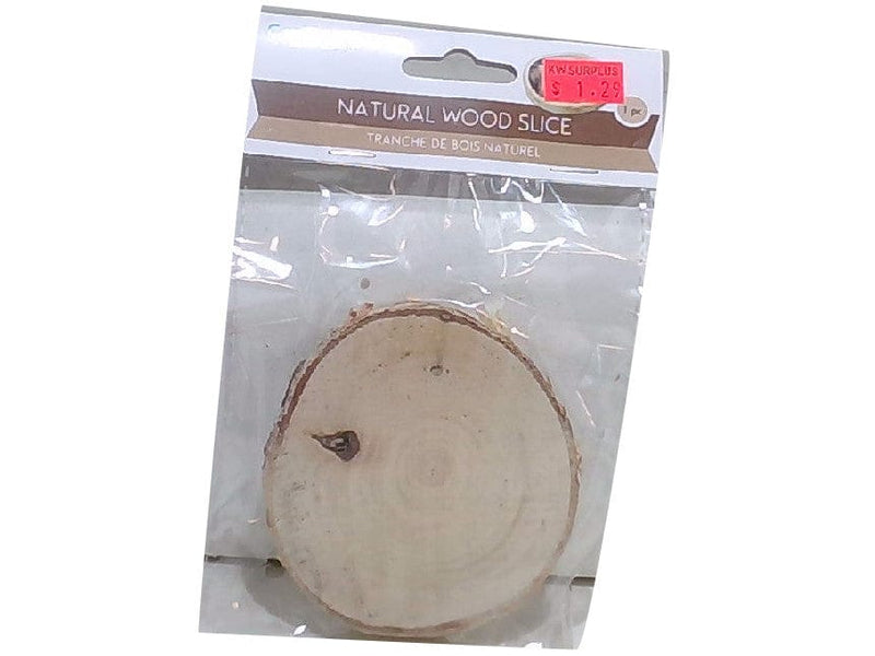 Craftwood 9cm. Natural Birch Slice