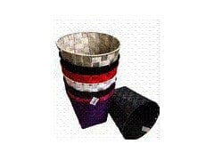 Waste basket large nylon black