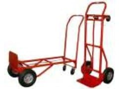 Hand truck - cart with solid tires