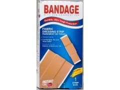 Bandage - fabric dressing strip 1 pc 6x100mm - instant aid