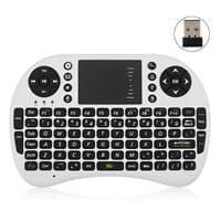 Mini keyboard/mouse wireless combo - game controller shape - touchpad mouse UKB-500-RF