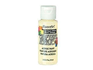 Crafters Acrylic Paint: 2oz Craft & Hobby  antique white
