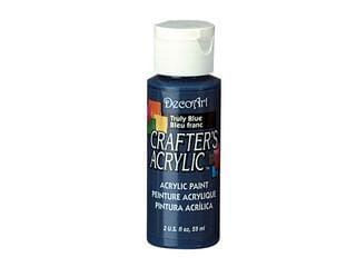 Crafters Acrylic Paint: 2oz Craft & Hobby  TRULY BLUE