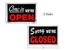 "OPEN/CLOSE SIGN 8X12""      MADE IN USA"