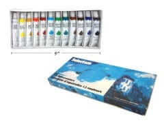 WATERCOLOR 12ML/TUBE 12CLRS
