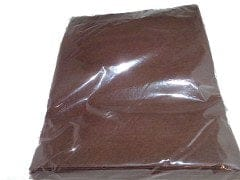 "Acrylic Felt Sheet 9x12"" Dark Brown"