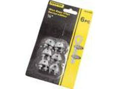 "Wire Rope Clamp 1/8"" 6pk. Carded"