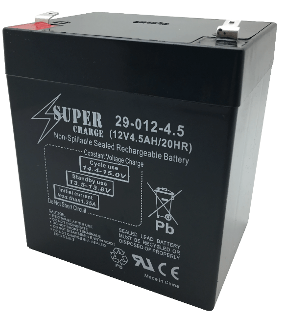 12 VOLT 4.5AMP BATTERY