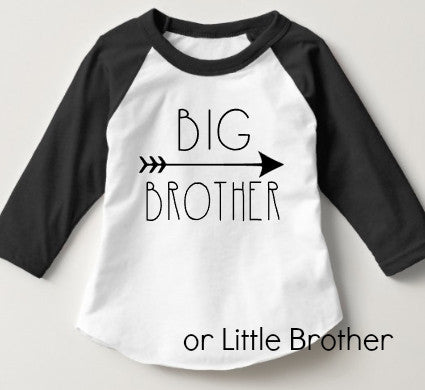 Big Brother | Little Brother Raglan