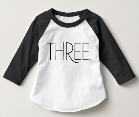 Three (Boys/Unisex)