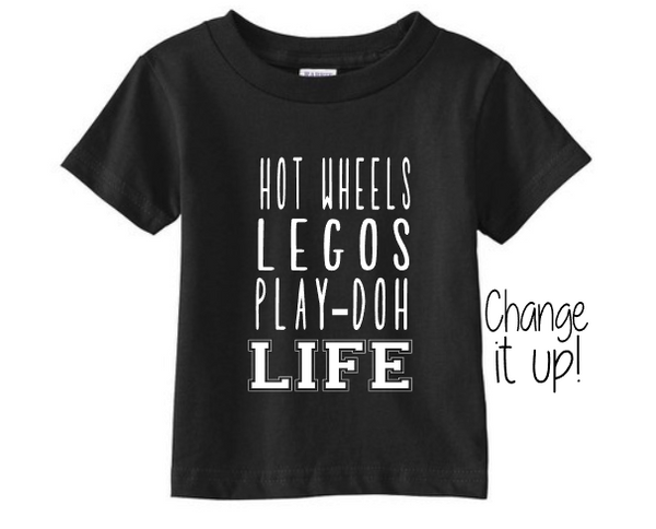 "Boy Life Shirt ""Change it up"""