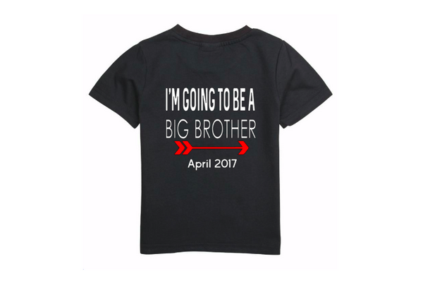 Big brother pregnancy announcement tee
