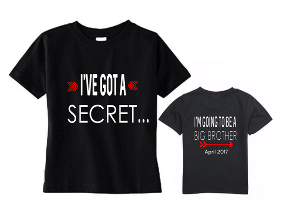 I've got a secret going to be a big bother tee shirt