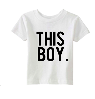 Stylish little boy shirt