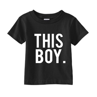 This Boy Shirt Tee