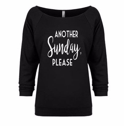Another Sunday, Please Women's Slouchy Relaxed