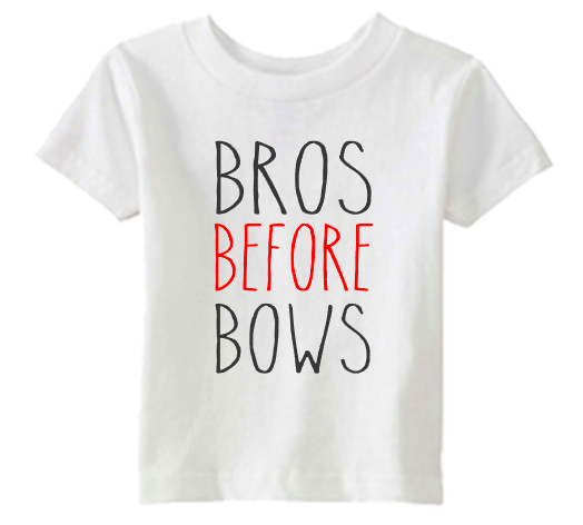 Brother shirt set