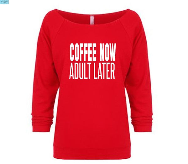 But first, coffee shirt.