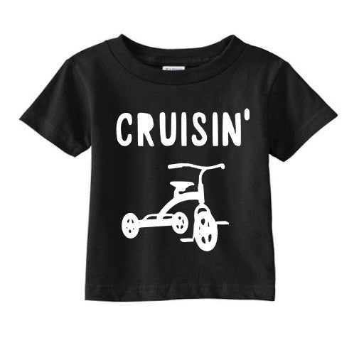 Cruisin Boys toddler tricycle tee shirt
